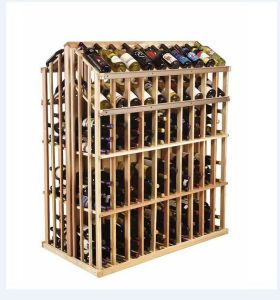 Antique Bottles Commercial Wine Rack Display Stand for Display Use