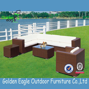 Assembled Rattan Modular Corner Sofa Set Garden Furniture