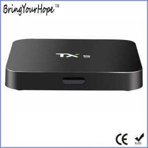 Tx5 Amlogic S905X Quad Core Kodi Android 6.0 Smart Internet Ott TV Box (XH-AT-012) pictures & photos