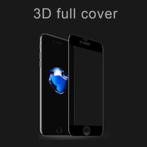 3D Full Covered Soft Edge Tetoughened Glass Membrane for iPhone 7/7 Plus Protector