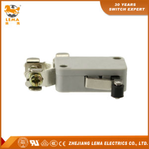 Lema Kw7-32L Plastic Roller Lever Screw Terminanl Micro Switch pictures & photos