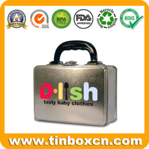 Metal Lunch Box with Handle for Gift Tin Box Packaging pictures & photos