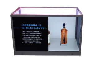 32 Inch Transparent Advertising Display Case pictures & photos