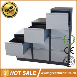 2/ 3/ 4/ Drawer Display Stainless Steel Handle File Storage Metal Office Cabinet pictures & photos