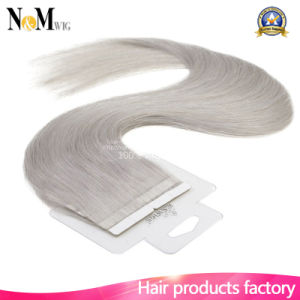 Factory Wholesale Price Different Size Different Colors Tape Human Brazilian Hair Extension pictures & photos