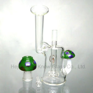 Pretty Mini Mushroom Glass DAB Rigs Water Pipes pictures & photos