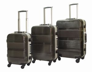 PC Trolley Case Aluminium Frame Luggage Set Mahd-01