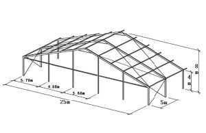 Industrial Storage Tents