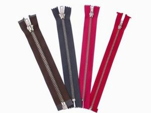Good Quality Nickel Brass Zipper pictures & photos