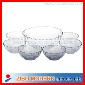 7PCS Glass Bowl Set, Dinner Set, Salad Bowl Set pictures & photos
