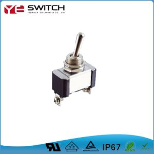 Electronic Long Life Locking Toggle Switch with UL Certificates
