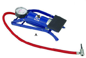 Nk813 High Pressure Capacity Foot Pump, Air Pump, Bike Pump, SGS Certification