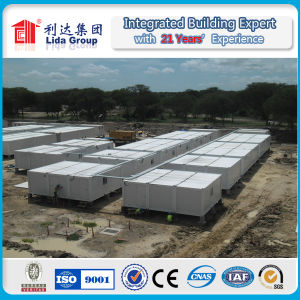 Flat Pack Container House for Labor Camp, Army Camp pictures & photos
