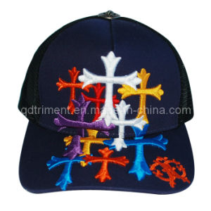 Constructed Joint 3D Embroidery Snapback Mesh Trucker Cap (TRT038) pictures & photos