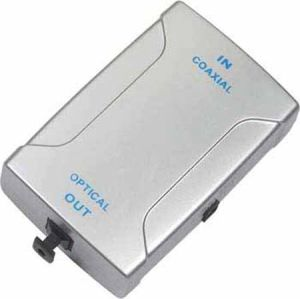 RCA to Digital Optical Coaxial Toslink Audio Converter