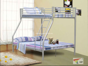 China Hot Sale Kd Tubes Bunk Bed Triple Bunk Bed Hf002 China