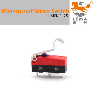 5A 250V IP65 Waterproof Micro Switch Lmfk-1-25 pictures & photos