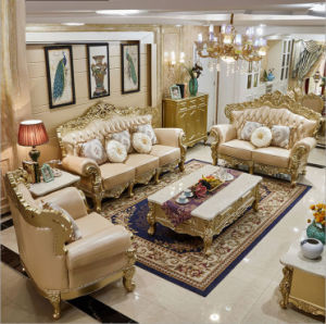 Clical European Style Leather Sofa