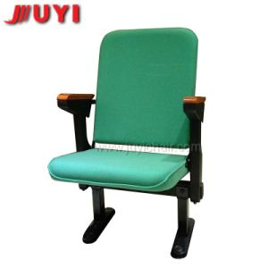 Chinese Factory Juyi Brand Indoor Handmade Upholstery Theater Folded Auditorium Seating pictures & photos
