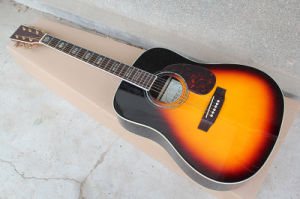Hanhai Music / 41′′ Acoustic Guitar with Top Solid (D45S) pictures & photos