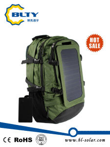 Army Green Polyester Hiking Solar Backpack 6.5W 6V Solar Bag pictures & photos