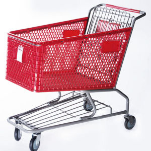 American Plastic Shopping Trolley pictures & photos