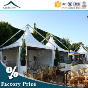 Romantic 10X10 Party Promotional Exhibition White PVC Event Party Pagoda Marquee Tent pictures & photos