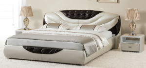 2016 Modern Elegant Leather Bed Full Size Available pictures & photos