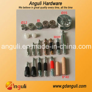 an-1019 High Quality Connecting Cam /Connecting Bolt /Wooden Dowel pictures & photos