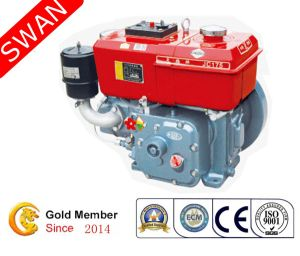 China Hand Crank 9 5HP Water Cooled Single Cylinder Diesel