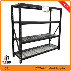 Black Wire Shelves, Commercial Shelving Racks, Industry Rack for Costco pictures & photos