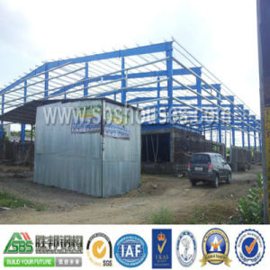 Modular Light Prefab Steel Frame Workshop
