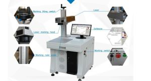 Rings and Bangles Outer Surface Laser Marking Machine/Jewelry Laser Marking Machine pictures & photos