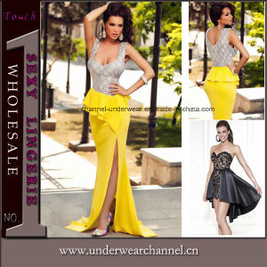 Sexy Evening Gown Cocktail Bandage Maxi Long Celebrity Dress (TG18095) pictures & photos