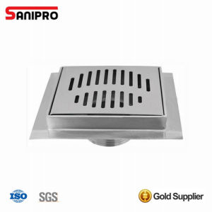 100X100mm Bathroom Ss Basement Floor Drain Cover pictures & photos