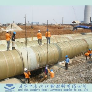 Fiberglass (FRP GRP) Pipe for Power Plants