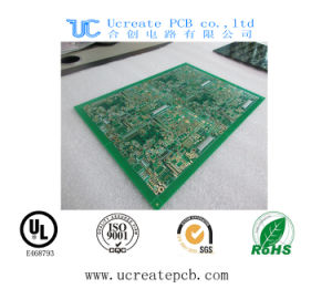 "Hot Sales Multilayer PCB Circuit Board with Immersion Gold 2u"" pictures & photos"