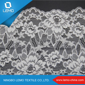 Elastic Tricot Swiss Voile Lace pictures & photos
