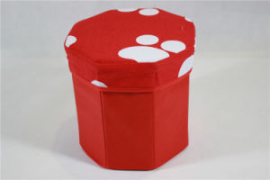 Clothes Storage Box/Decorative Storage Boxes/ Foldable Storage Box (MECO417) pictures & photos