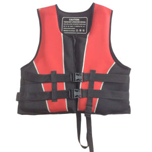 Neoprene Life Jacket with Polyester (HX-V0017) pictures & photos