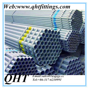 ASTM A53 HDG Gi Hot Dipped Galvanized Steel Pipe