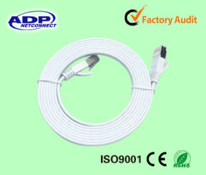Cat5/CAT6 Flat Patch Cord Cable pictures & photos