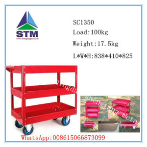 Stainless Steel Food Trolley, Foldable Hand Trolley, Warehouse Trolley