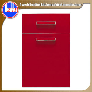 Red MDF Lacquer Cabinet Doors (high glossy) pictures & photos