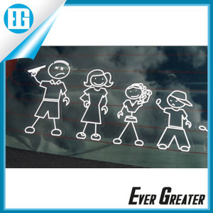 Waterproof Hot Selling Family Car Stickers with ISO/Ts16949 Certified pictures & photos