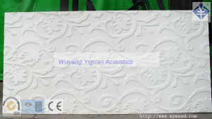 Modern Style 3D MDF Carved Wave Decorative Wall Panels (208MSWCPM18) pictures & photos