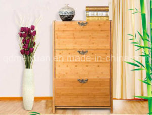 Solid Wooden Shoe Rack Cabinet (M-X2577) pictures & photos