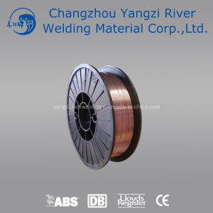 En G3si1 CO2 Copper Welding Wire 0.8mm with Plastic Spool