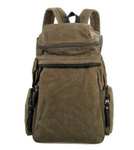 Trending Hot Products Hiking Vintage Canvas Backpack Sh-16061645 pictures & photos