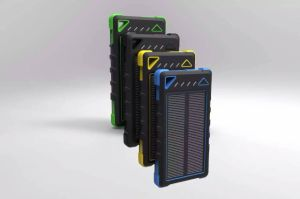 Phone Accessories Dual-USB 8000mAh Solar Panel Power Bank (SC-1788) pictures & photos